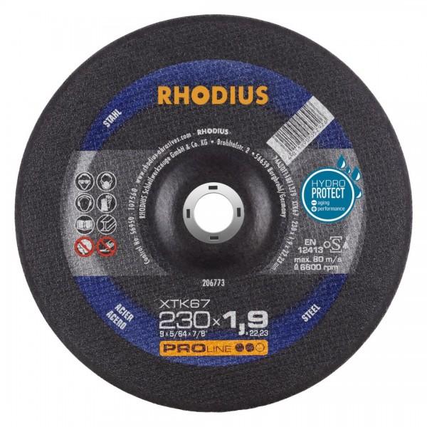 Rhodius Trennscheibe XTK67, Ø 230 mm