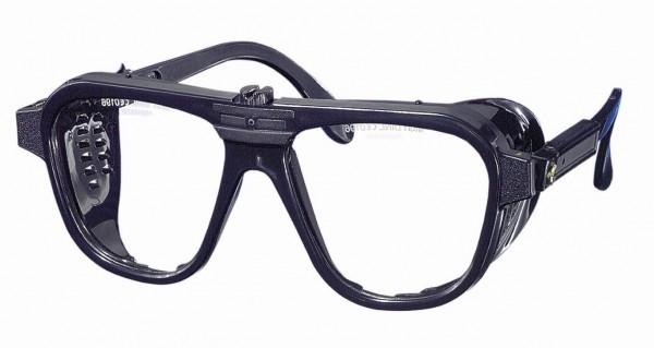Nylonbrille mit ovalen Gläsern und verstellbaren Bügeln