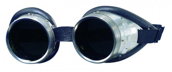 Schraubringbrille mit ATHERMAL-Glas grün, DIN 5