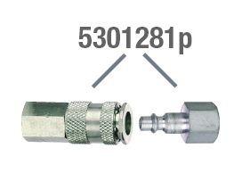 Kupplung- und Stecknippelsatz CEJN
