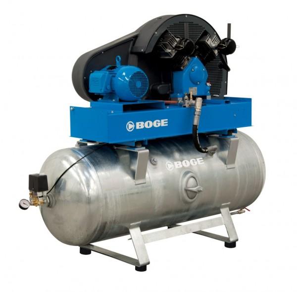 BOGE Kolbenkompressor SB 970, 350 l, 5,5 kW, 10 bar