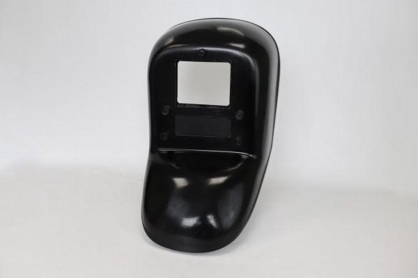Handschild, Schweißer-Handschutzschild mit Freisichtmechanik