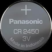 Batterie 3V CR 2450, Panasonic Lithium, passend für MACH II