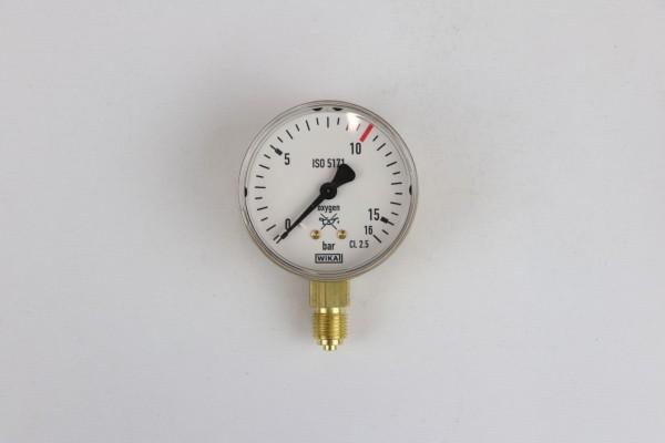 Manometer Sauerstoff Arbeitsdruck