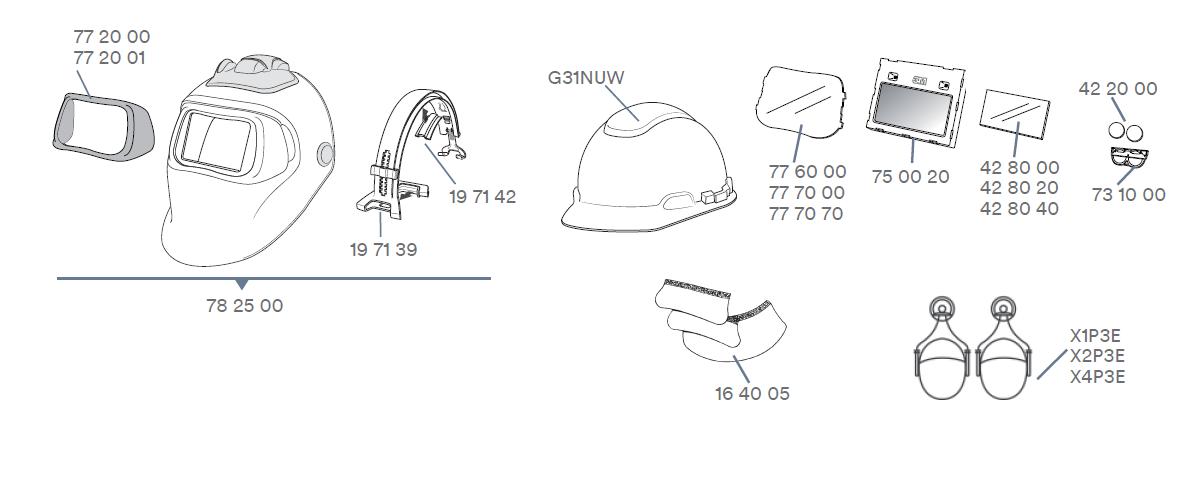 Ersatzteile-3M-Schweissschutzmaske100-QR