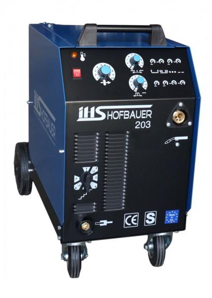IHS MIG-MAG Schutzgas Schweißgerät Typ MM203