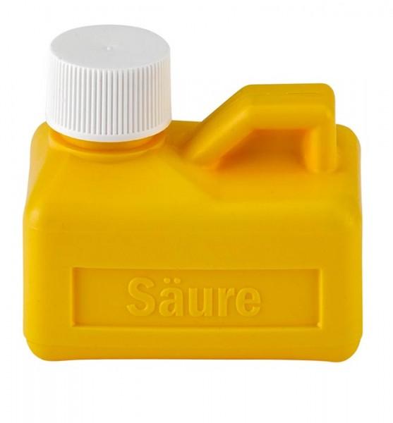 Säureflasche gelb 125 ml