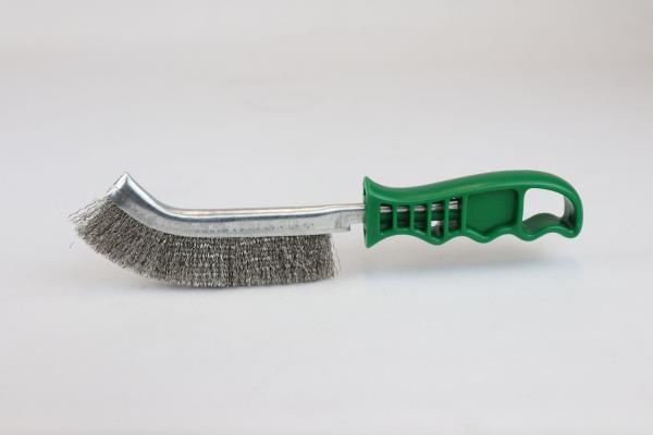 Allzweck-Handbürste Edelstahl V2A, Edelstahldraht gewellt