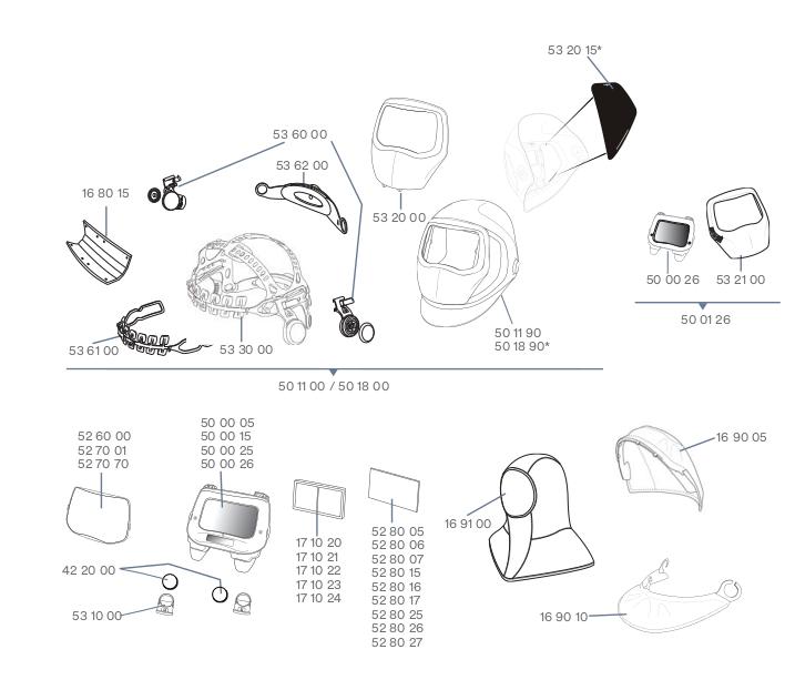 Ersatzteile-3M-Speedglas-9100