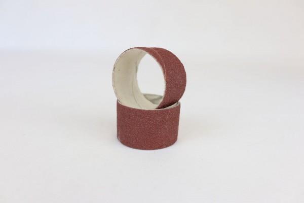 Schleifbandhülse, Ø10 x 10 K80, Schleifbänder zylindrisch, Normalkorund