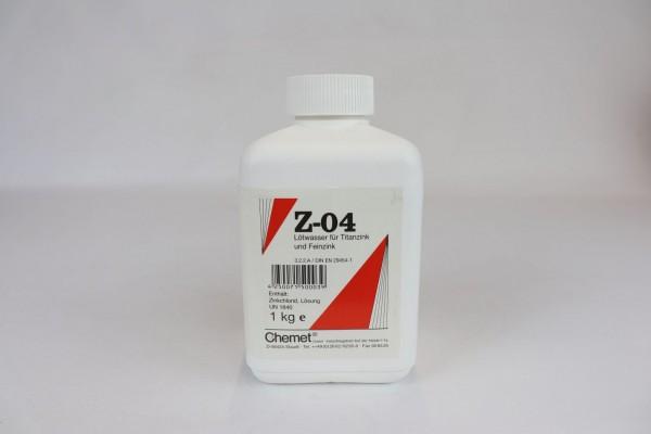 Lötwasser für Titanzink Z-04