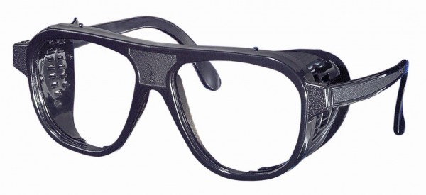 Nylonbrille mit ovalen Gläsern aus Kunststoff