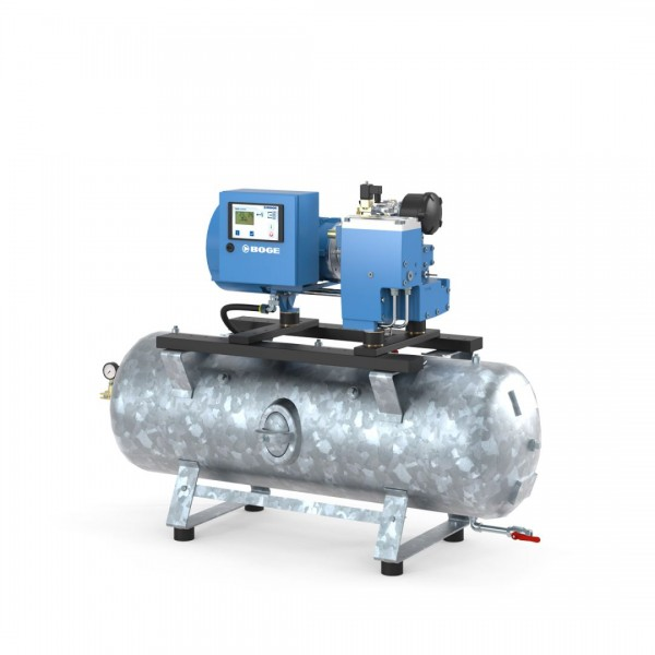 BOGE Schraubenkompressor C 4 LR, 90 l, 3,0 kW, 10 bar